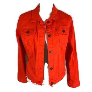 Old Navy The RockStar red jean jacket